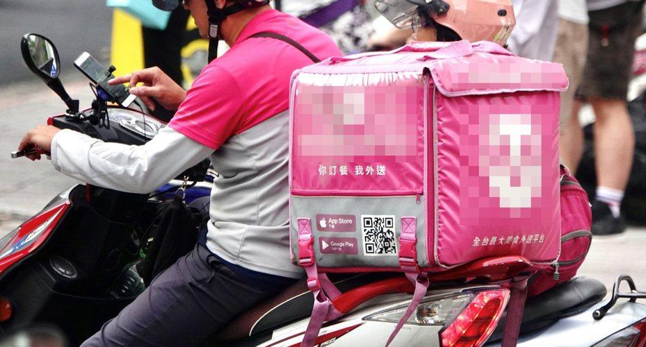 外送行業競爭激烈,導致有許多人無單可接。示意圖/聯合報系資料照