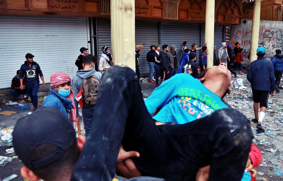 抗爭者不滿,巴格達中央政府長期陷入以「族群鬥爭」為陣營劃分的政治分贓,根本毫無能...