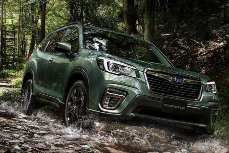 越野質感仕樣!Subaru Forester X-Edition特仕車日本登場