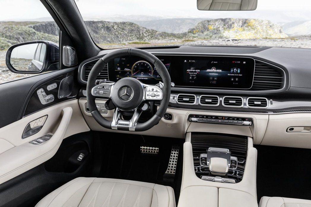 新世代Mercedes-AMG GLE 63 S 4MATIC+ 內裝。 摘自M...