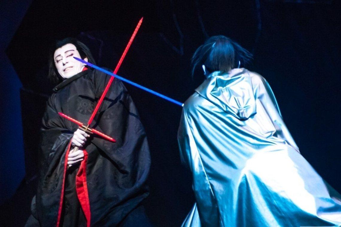 為了符合傳統歌舞伎的文化,《星戰》諸多人名和用詞也都轉化為日式風格。 圖/Sta...