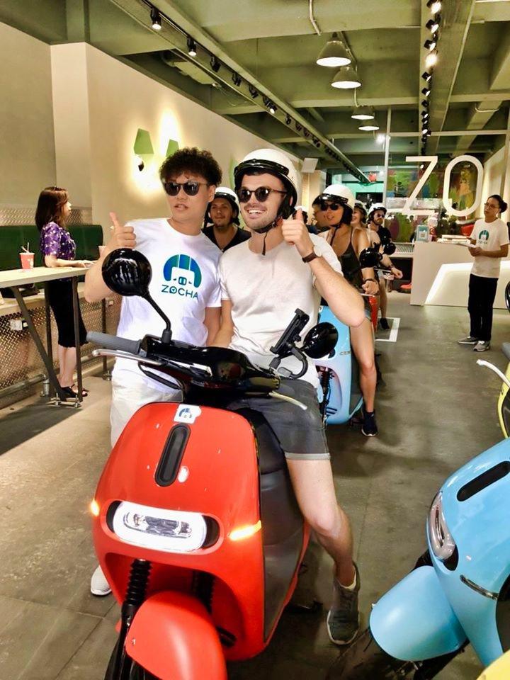 「ZOCHA」結合科技打造台灣騎乘旅行,今年搭配秋冬旅遊推出聖誕感恩回饋活動,租...