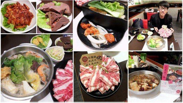 凱南和朋友點了滿滿一桌,總共三種不同類型的鍋物,擁有三重滿足~哈哈!