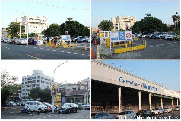 照著店家提供的停車場指示位置找到位於北門家樂福旁的停車區