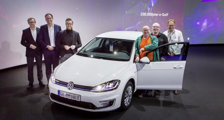 Volkswagen Golf再創紀錄 第10萬輛e-Golf正式交車!