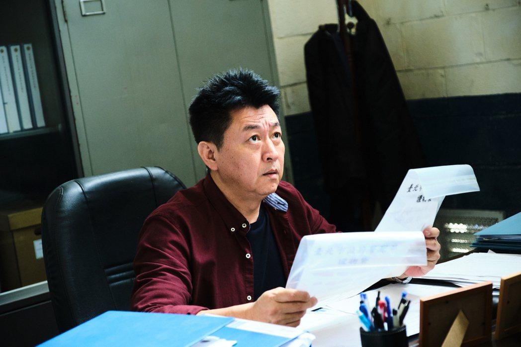 庹宗華在劇中飾演刑警大隊長。圖/拙八郎提供