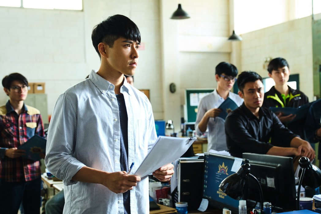 吳岳擎劇中飾演基層員警。圖/拙八郎提供