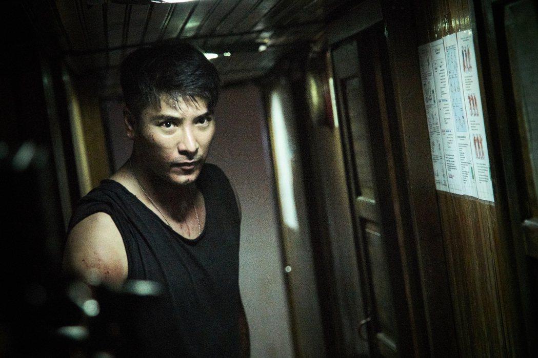 羅平首度飾演反派殺手。圖/拙八郎提供