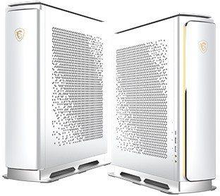 榮獲精品銀質獎Prestige P100 時尚美型數位內容創作桌上型電腦。 圖/...