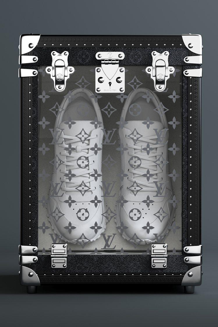 路易威登運動鞋鞋盒(Boite Sneaker)。圖/LV提供