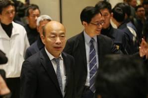 韓國瑜公布26項國政 打破鐵籠公投、與美軍事案有革新作法