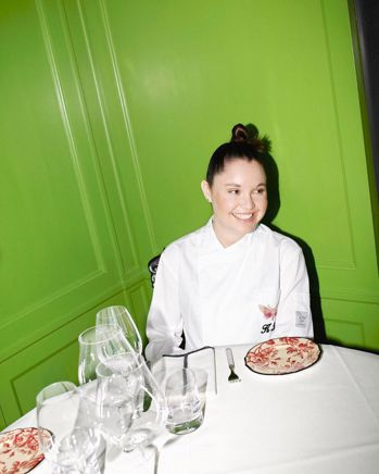 GUCCI Osteria目前負責料理的主廚Karime Lopez。圖/取自I...
