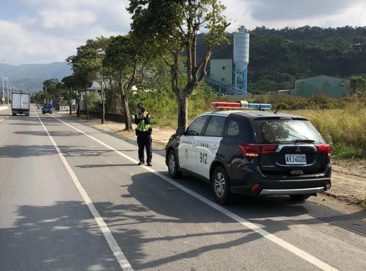 台南玉井警分局將在重點道路加強機動測速照相取締。記者吳淑玲/翻攝