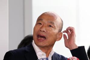 韓國瑜:民進黨右手抹黑左手假民調 民調蓋牌先斷一臂