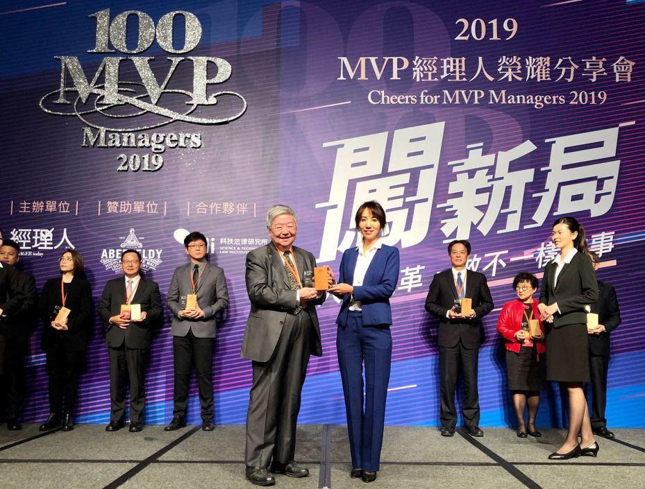 創業家兄弟總經理廖家欣榮獲台灣Super MVP經理人。圖/創業家提供