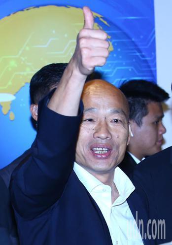 國民黨總統參選人韓國瑜。聯合報系記者杜建重/攝影