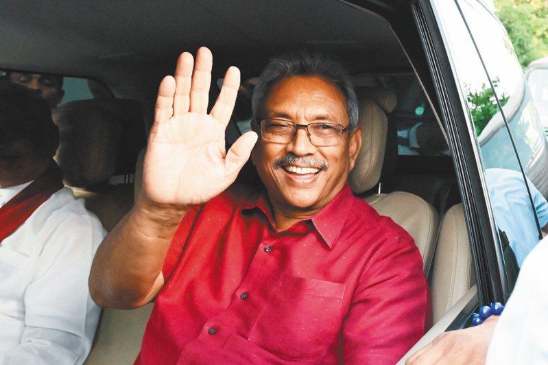 斯里蘭卡總統拉賈帕克薩。   (法新社)