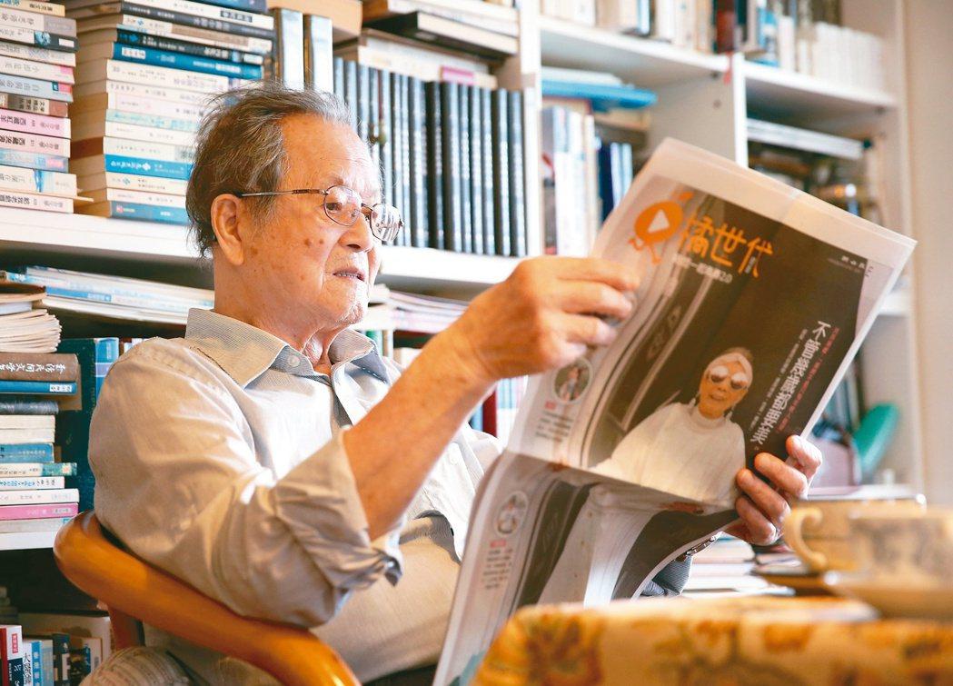 國寶級作家黃春明。圖/林澔一攝影