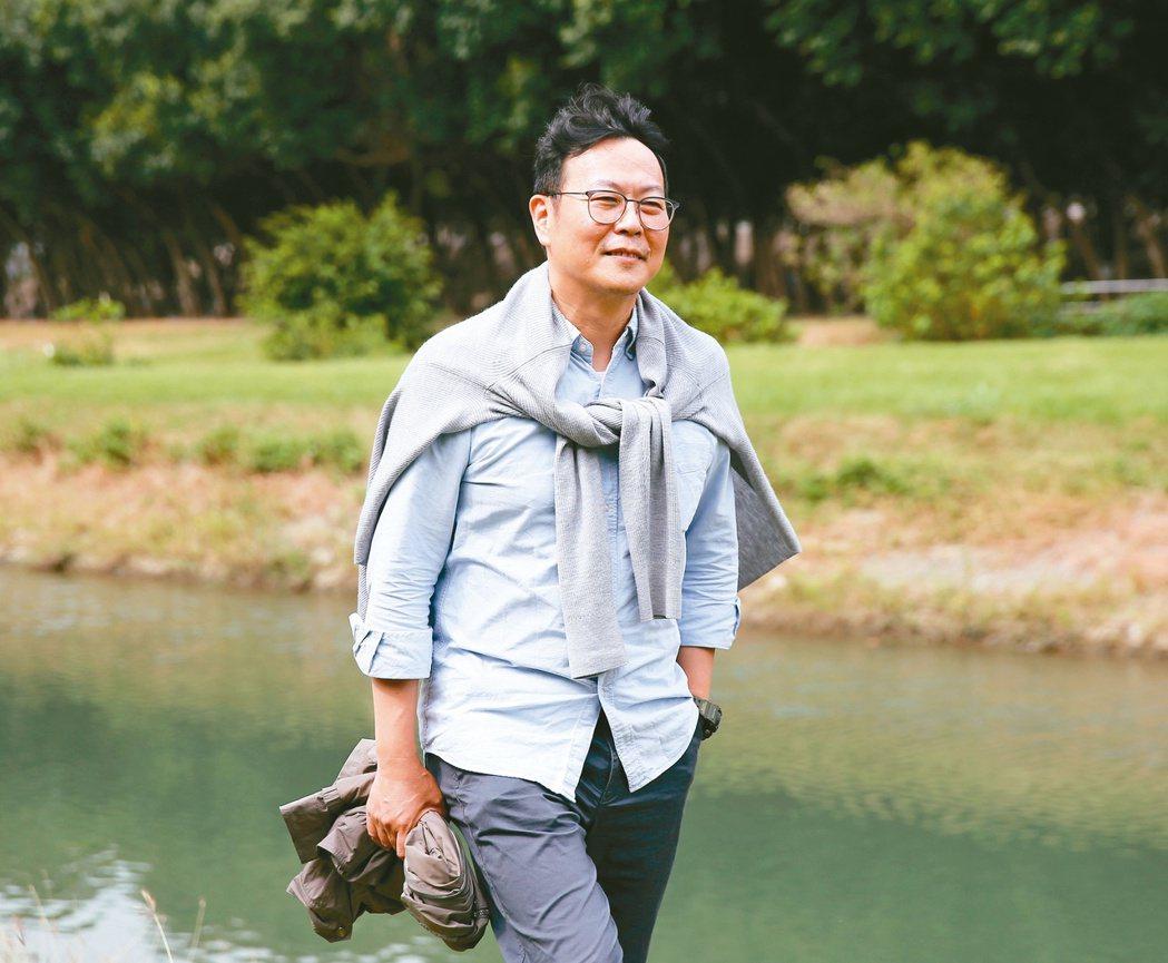 黃國珍投身國中小學生的閱讀推廣工作。圖/林澔一攝影