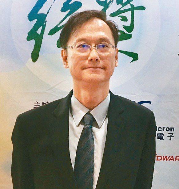 聯電總經理簡山傑 記者李孟珊/攝影