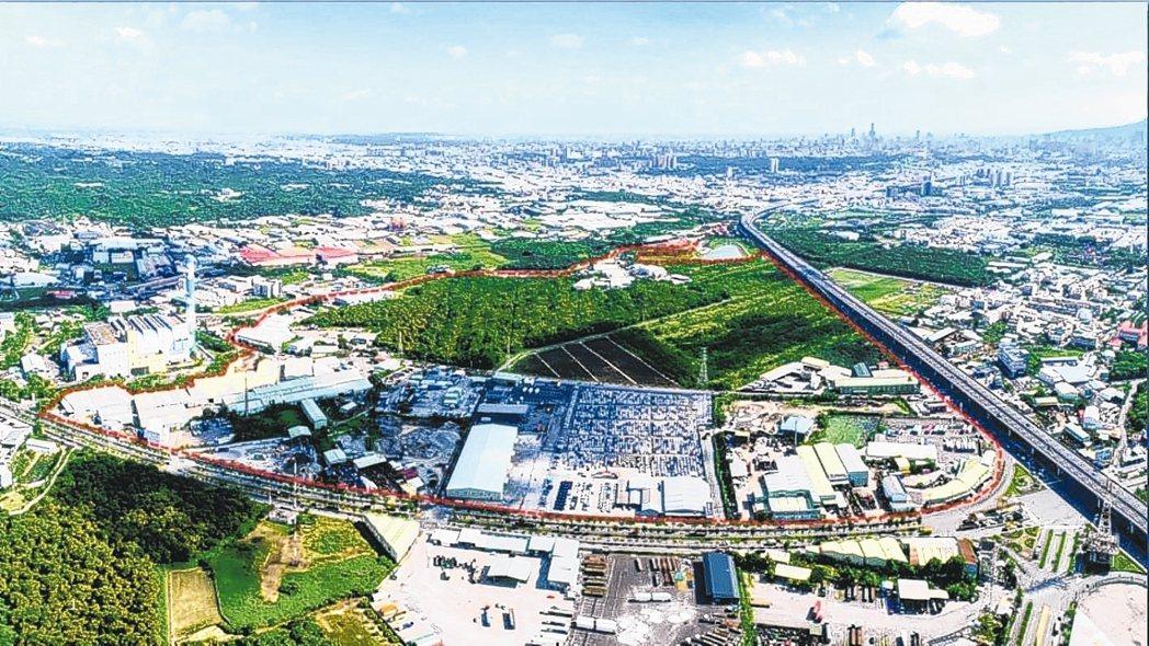 高雄仁武產業園區附近房價便宜,置產客也開始搶進。 圖/聯合報系資料照片