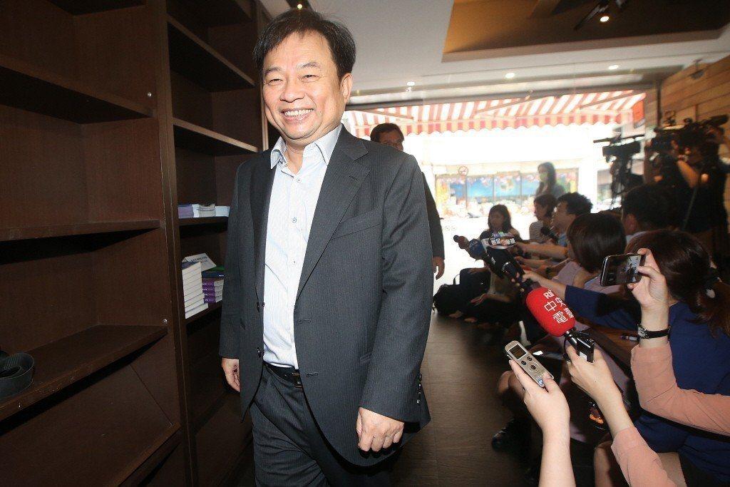 擔任蔡英文競選連任操盤手的前行政院副院長林錫耀。 圖/聯合報系資料照片