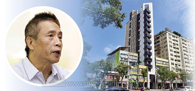 林信郎預估,台北市紙片屋比較有市場,新北市消費者較難接受紙片屋。