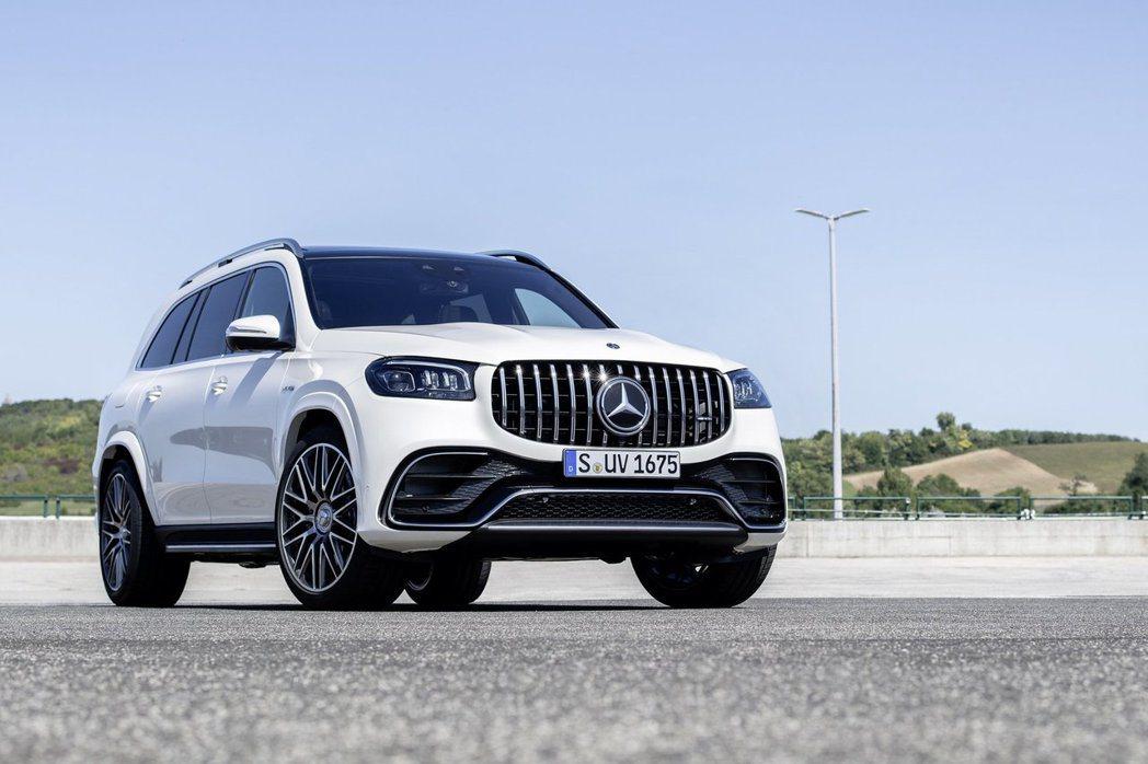 全新Mercedes-AMG GLS 63 4MATIC+最大馬力可輸出612h...