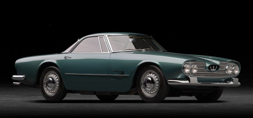 Maserati 5000 GT。 圖/Maserati提供