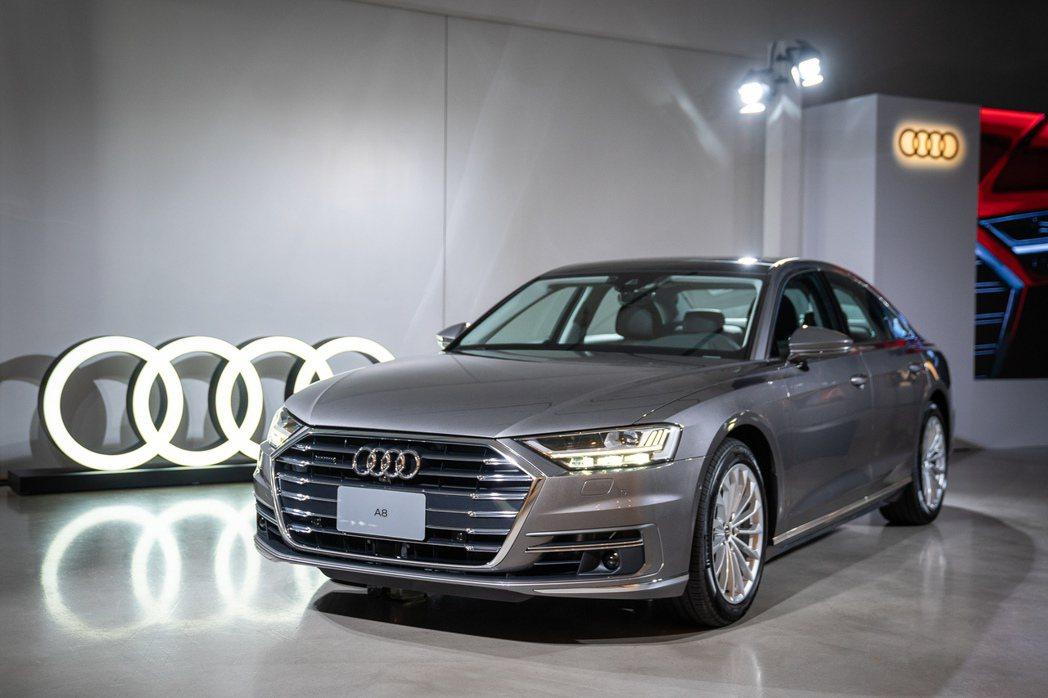 全新Audi A8 豪華旗艦房車集結『設計、科技、舒適』三大優勢為層峰買家級距市...