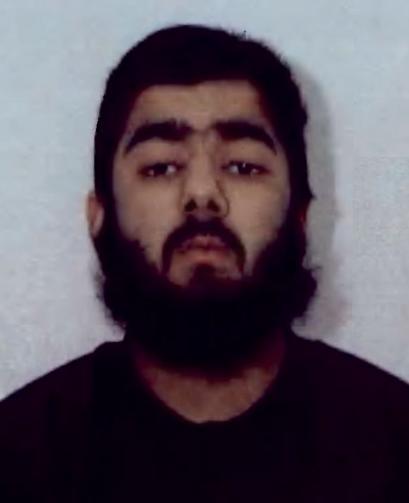 倫敦橋恐攻嫌犯為28歲的烏斯曼.可汗(Usman Khan)。圖/倫敦警方提供