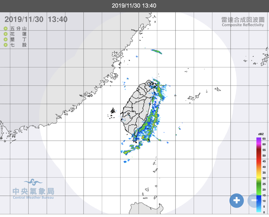 今明東北季風減弱,但日夜溫差大。圖/氣象局提供