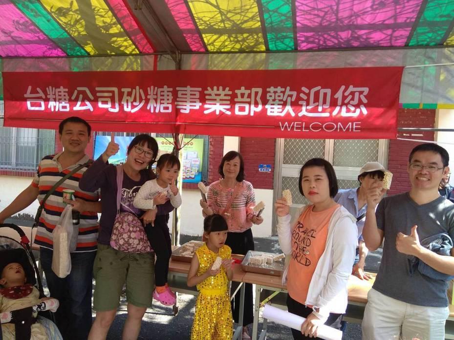 位在高雄小港區台糖事業砂糖部表示,甘蔗祭文化節活動是屏東地區的年度盛事之一,台糖今年安排剖甘蔗比賽、親子烤甘蔗,還可品嘗「米香」。圖/台糖公司提供