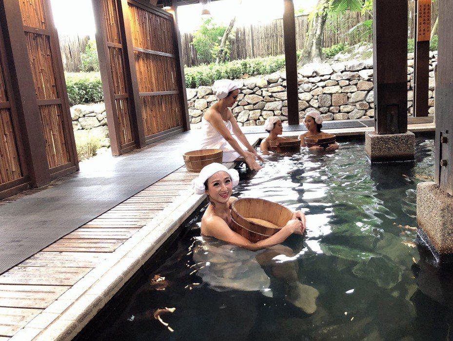 2019冬戀蘭陽溫泉季下個月(12月)6日至15日在宜蘭舉行,除礁溪溫泉區的美人湯,其他山區的溫泉勝地都在呼喚。圖/宜蘭縣政府提供