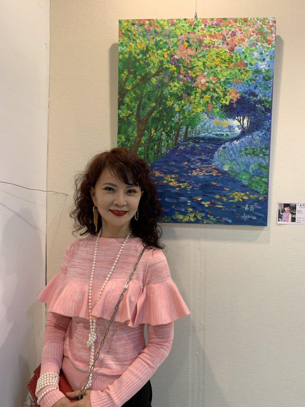 70年代巨星鄧美芳受到大陸媒體的喜愛  記者 楊起鳳/攝影