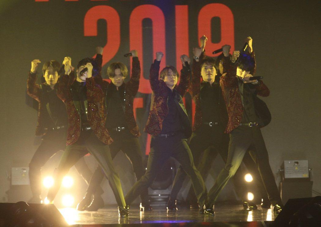 日本傑尼斯夯男團Kis-My-Ft2將首次海外出演獻給AFA。記者許正宏/攝影