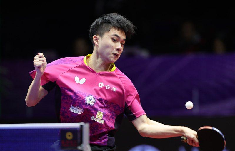 林昀儒四強戰不敵樊振東,下午將與前世界球王大陸名將馬龍爭季軍。 新華社