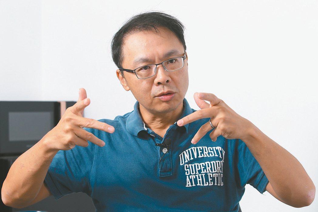 動見科技執行長周俊廷 記者許正宏/攝影