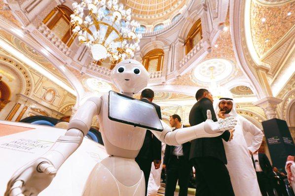 機器人和自動化是未來十年關鍵主題。 美聯社