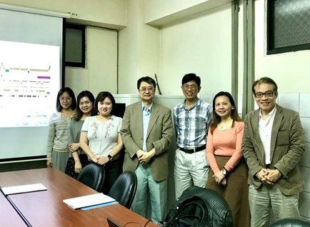教授醫師團隊成員,由左至右:中山醫學大學鄧雅凌教授、李亞欣教授、梁培英醫師、白佳...