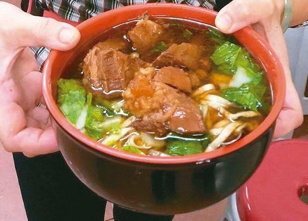 牛肉麵是台灣常見美食。 圖/聯合報系資料照片
