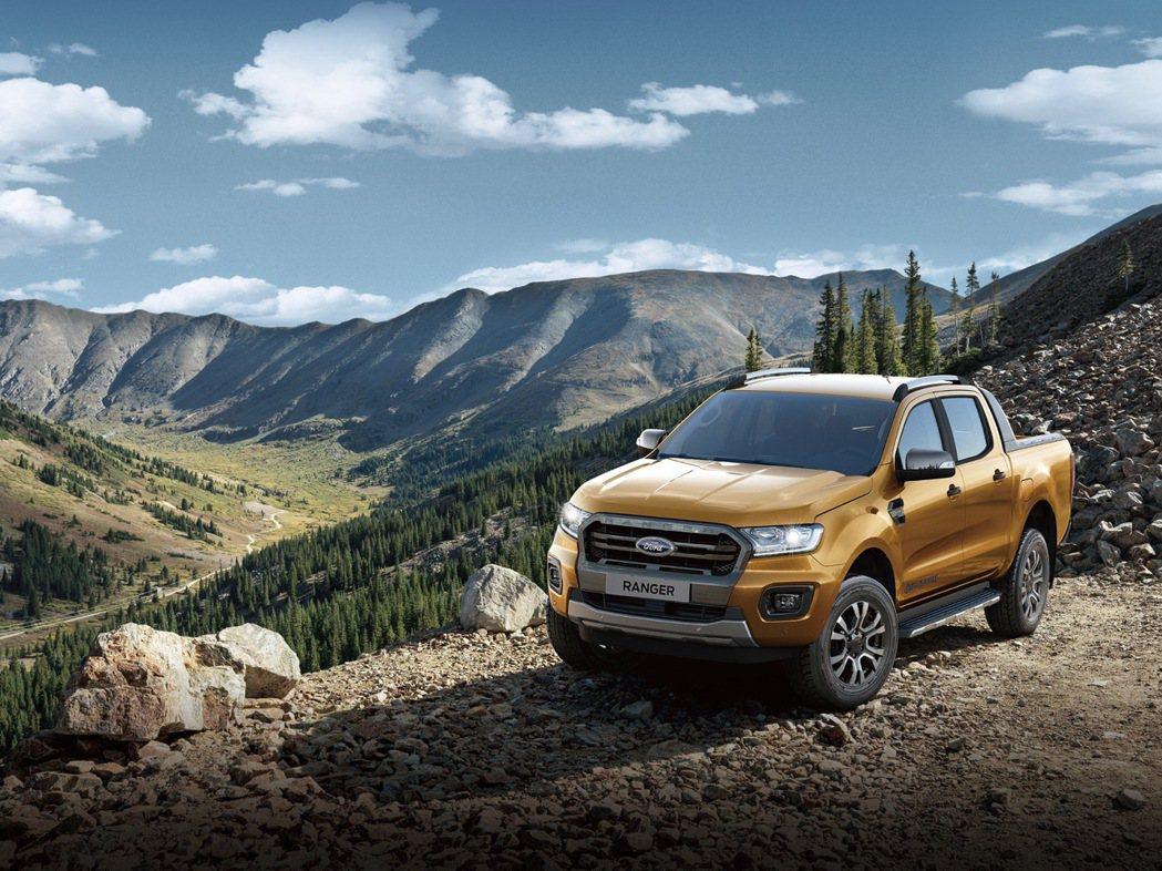 12月入主美式運動休旅皮卡Ford Ranger Wildtrak型限量享現金價...