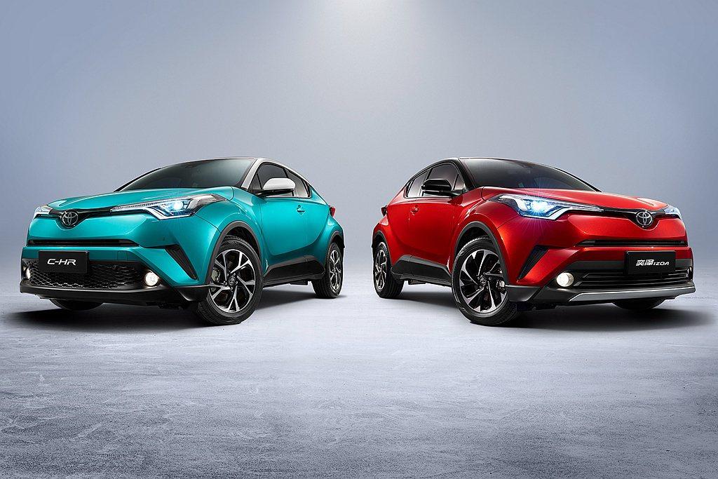 依循中國市場特有的合資品牌雙車型銷售模式,一汽豐田握有Toyota Izoa(奕...