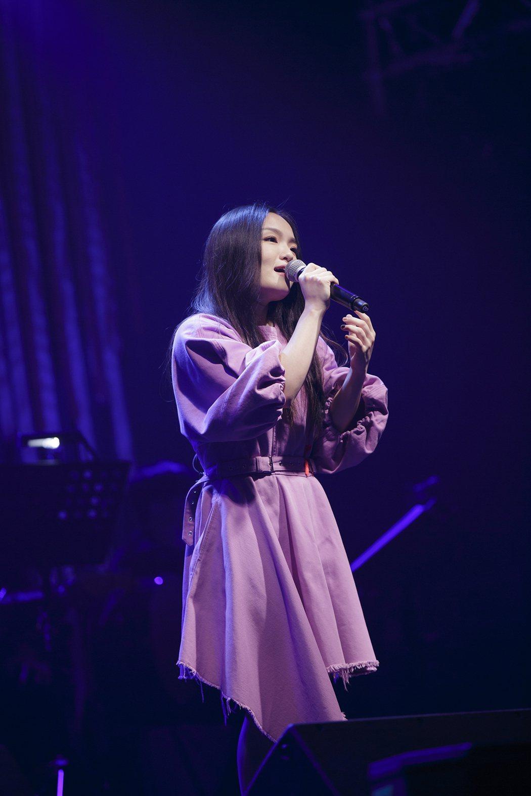 徐佳瑩帶來多首金曲。圖/愛之日常音樂節提供