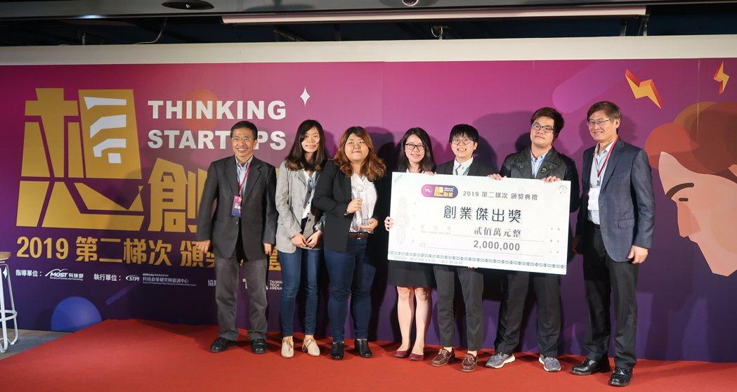 來自高醫的GOOD LOCK團隊獲得108年第二梯次科技部創新創業激勵計畫創業傑...