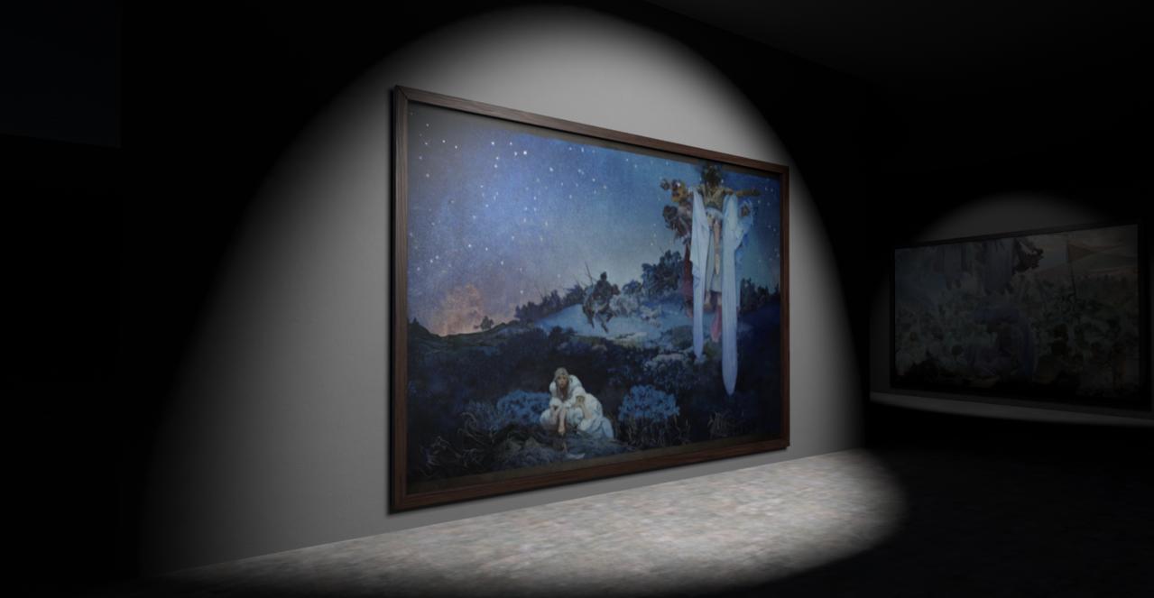 17日登場的故宮南院嘉年華,故宮南院將成為全球首次展出捷克慕夏基金會推出的「斯拉...