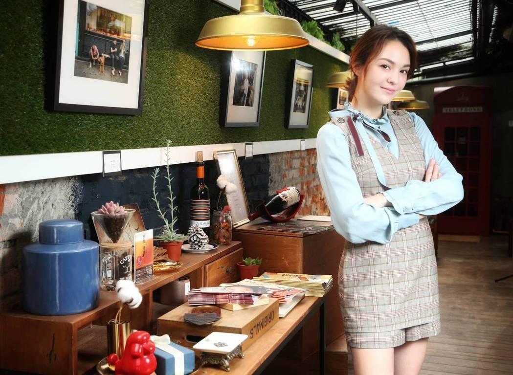 張榕容主演的「從前有座靈劍山」正於愛奇藝台灣站播出。記者陳立凱/攝影
