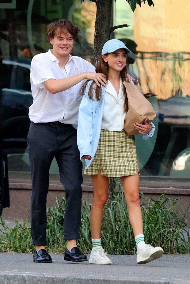 娜塔莉亞戴爾與查利希頓。圖/摘自hollywoodlife.com