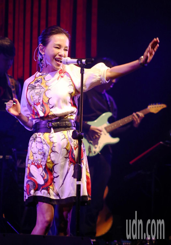 愛之日常音樂節於華山Legacy開唱,歌手彭佳慧開唱。記者曾原信/攝影