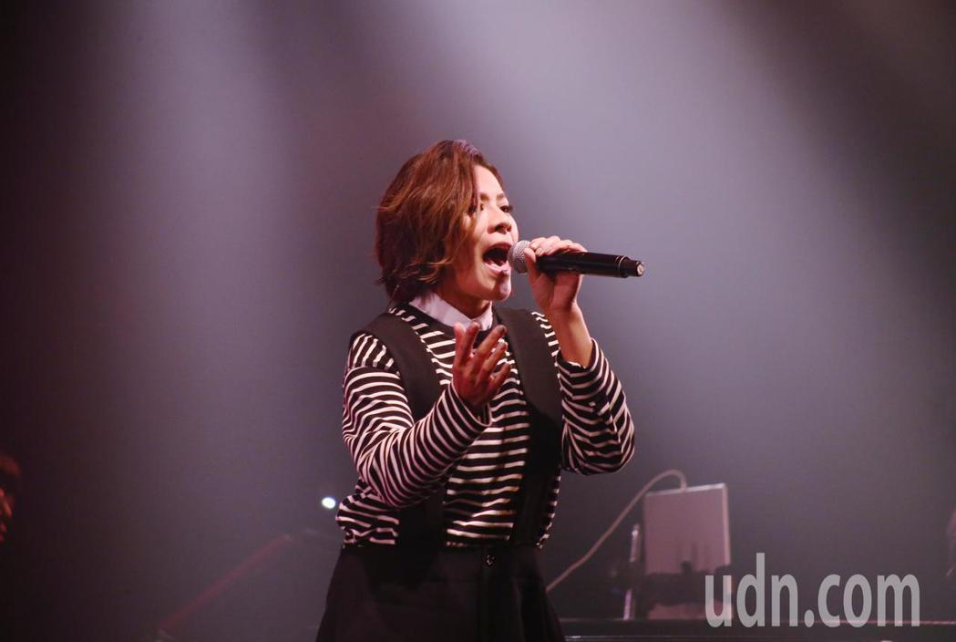 愛之日常音樂節於華山Legacy開唱,歌手江美琪開唱。記者曾原信/攝影